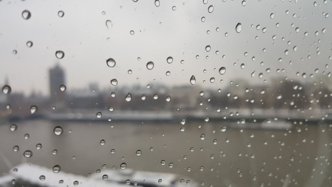 london eye raindrops