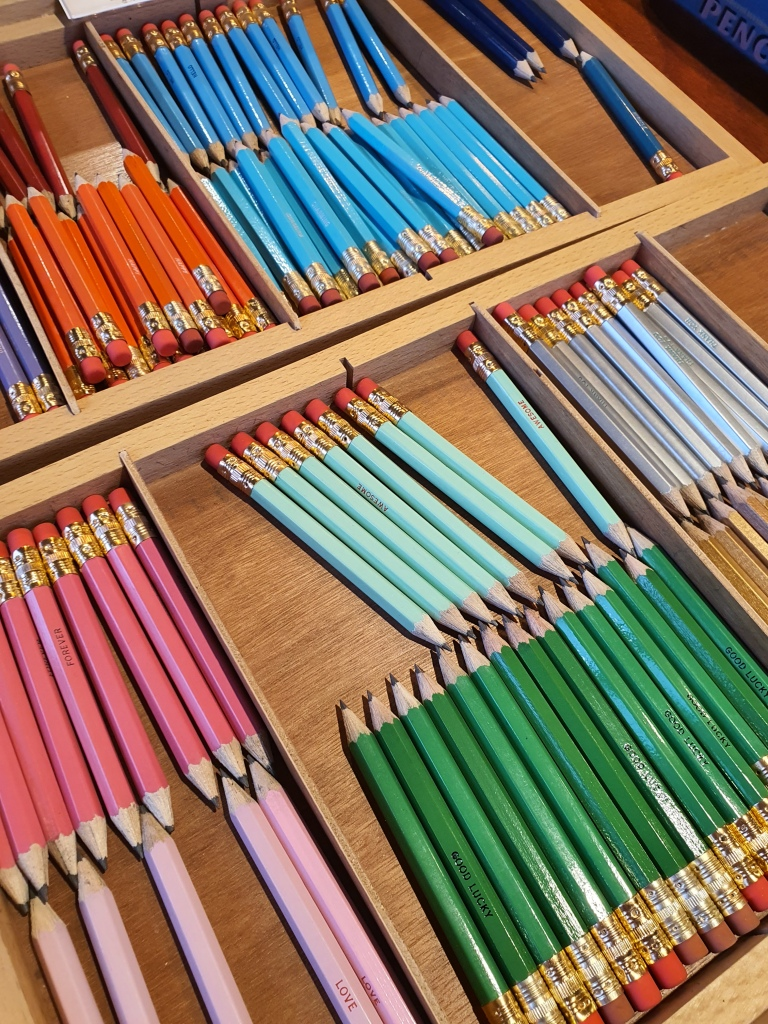 Colorful mini pencils