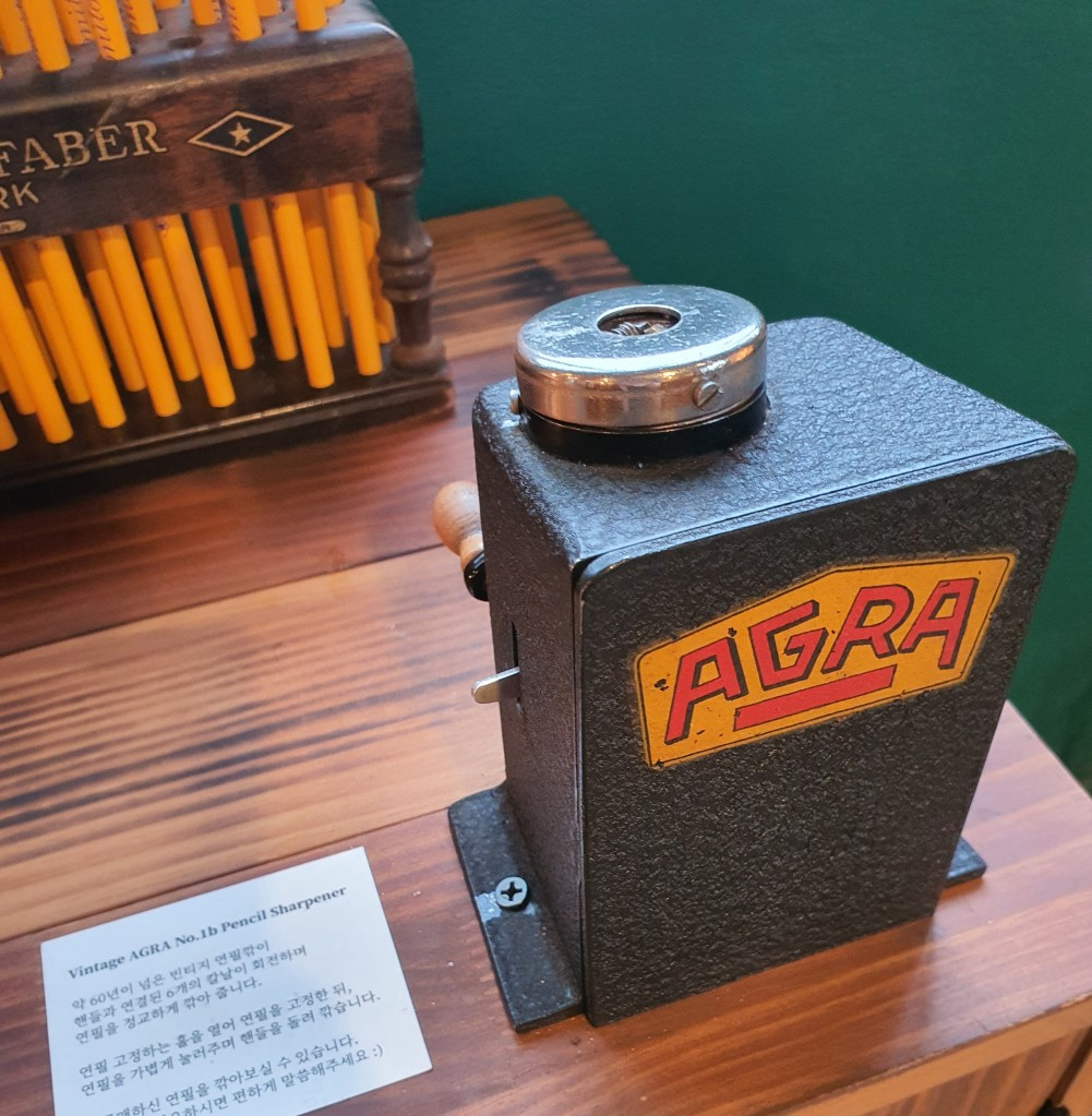 Vintage Agra Pencil Sharpener