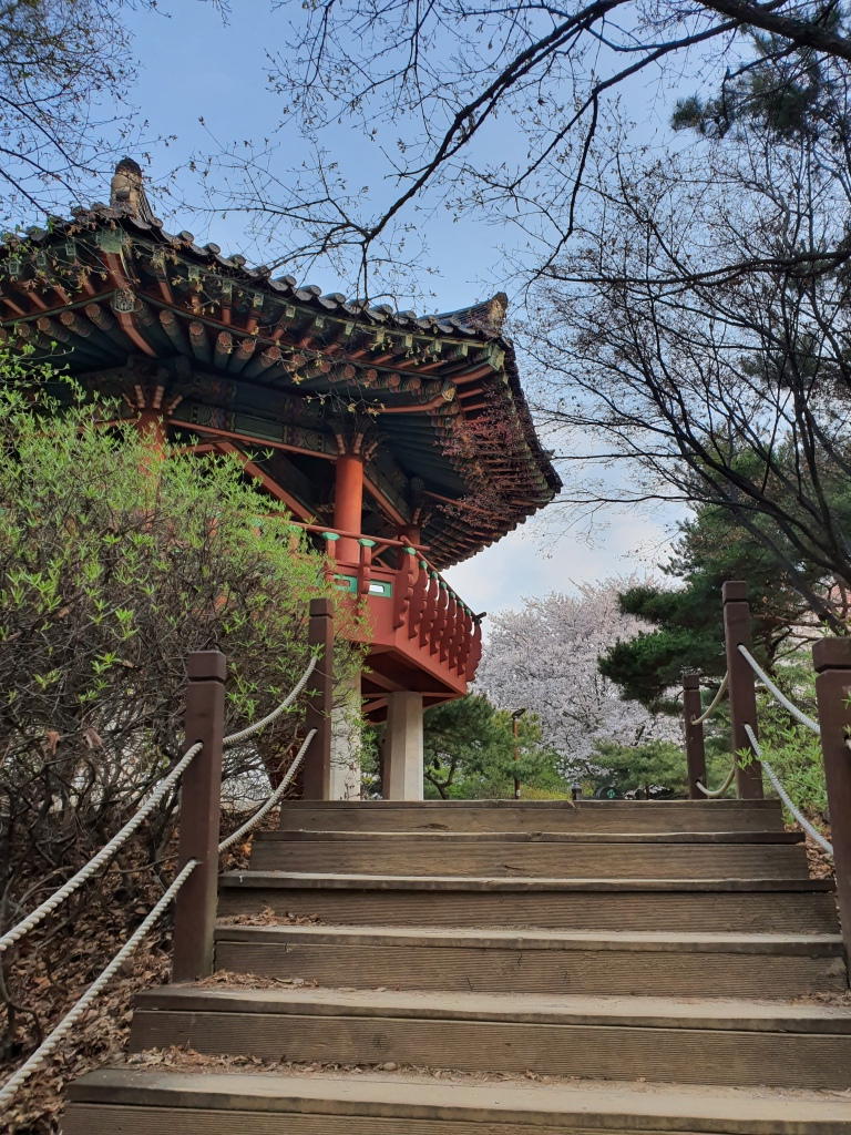 korean pagoda mountain