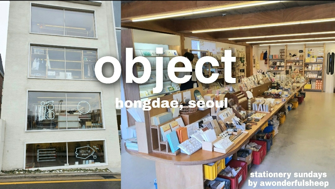 object stationery store seoul