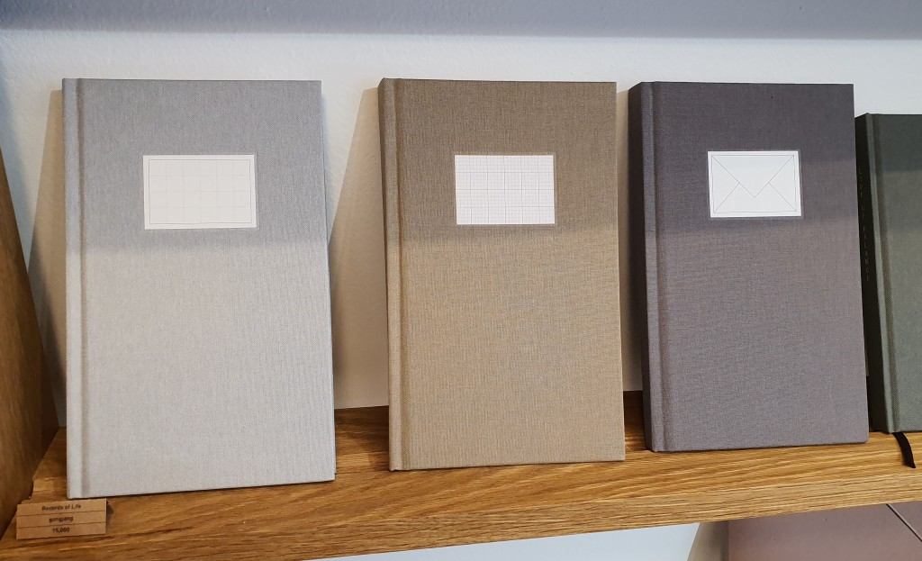 muted colors notebooks