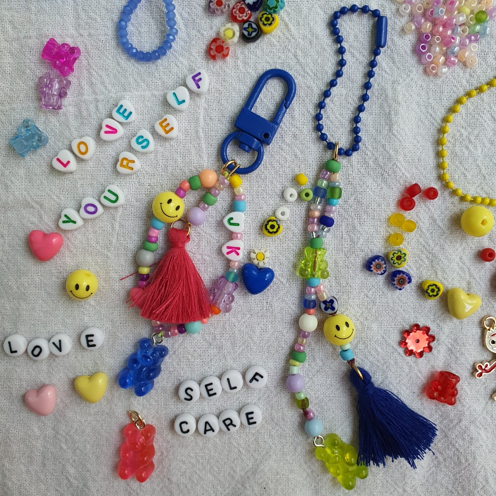 beads keychains