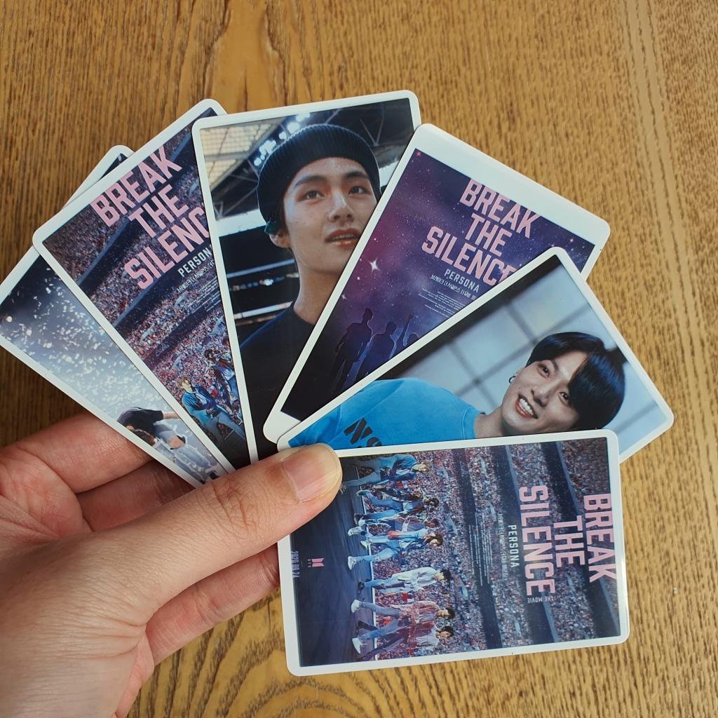 bts break the silence photocards